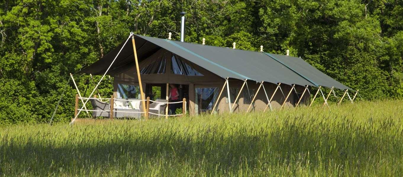 Safari Tents In Devon