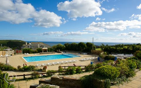 Seaview International Holiday Park In St Austell Cornwall