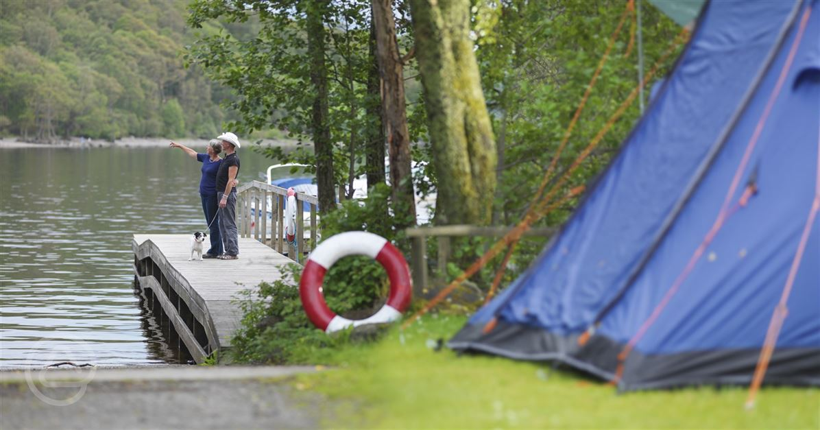 Milarrochy Bay Camping And Caravanning Club Site In