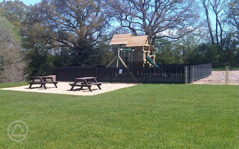 Picnic area and kids playground