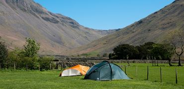 Tent in the Lake District