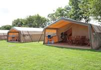 Safari tents at Trevella Park