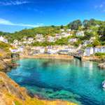 Beautiful Polperro Harbour in Cornwall