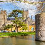 Bishops Palace and Wells Cathedral, Somerset