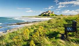 Touring Caravan Sites Northumberland Near A Beach