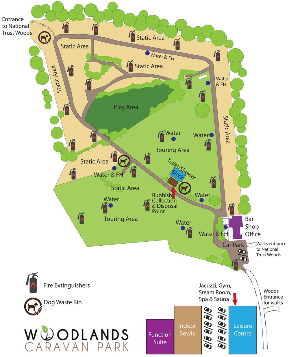 Woodlands Caravan Park In Sheringham Norfolk